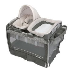 Graco Pack 'n Play Playard with Nuzzle Nest Sway Seat