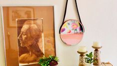 How to Make a Leather Strap Hanging Mirror - Today's project, How to Make a Leather Strap Hanging Mirror, not only reflects timeless design an - Mirrors With Leather Straps, Apartment Projects, Diy Mirror, Diy Hanging, Timeless Design, Accent Decor, Diy Home Decor, Easy Diy, Design Inspiration
