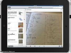 Vimeo detailing how to create student portfolios on EVERNOTE