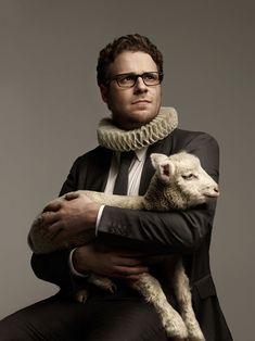 I don't know what's happening here. But if that was a goat instead, I'd be buying this photo and framing it for my living room
