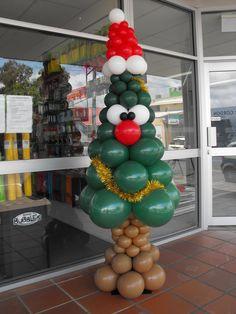 Christmas tree makes a great attraction. #christmas #christmastree #holiday #fun www.astylishcelebration.com.au