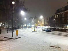 Just before midnight in West Hampstead (@SiDedman)