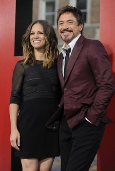Picture of Robert Downey Jr. Susan Downey, My Hairstyle, Hairstyle Ideas, Iron Man Tony Stark, Famous Couples, Lady And Gentlemen, Robert Downey Jr, Celebs, Celebrities