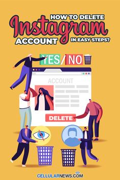 Instagram, popularly known as 'IG', has significantly changed the way people connect with each other. However, despite it being a great social media platform, it is understandable that users sometimes get unwanted experiences from the app. This is one of the reasons why some people decide to delete their accounts instead as an ultimate remedy to their dilemmas. How To Delete Instagram, Social Media Apps, Instagram Accounts, Mobile App, Accounting, Connect, Platform, Easy, People