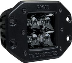 Rigid Industries D2 - Midnight Edition Flush Mount LED Bar Spot Lights