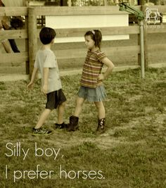So cute. Love this! #horse #sillyboys #aHorseBox #equestrian