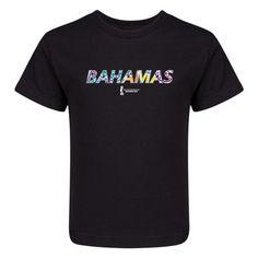 FIFA Beach World Cup Bahamas 2017 Untied Arab Emirates Kids T-Shirt (Black)