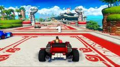Sonic All Star Racing Transformed with Dudz & Shotglass! Ocean View