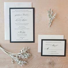 Elegant Wedding invitation  Script on by JenSimpsonDesign on Etsy, $5.50