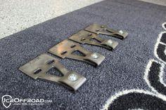 Jeep Cherokee XJ Roof Rack Mounts for do it yourself rack building