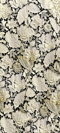 Superb antique lace. Details welcome!