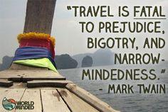 Traveling opens door yo new possibilities.