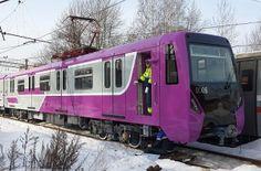 #Alstom #Metrovagonmash delivers new #Baku #metro trains #rollingstock #railway