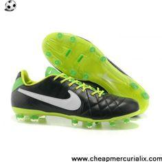 Sale Discount Nike Tiempo Legend IV Elite FG Green Black White Shoes Shop