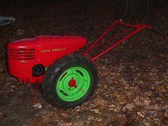 David Bradley Tractor Model 9175756   Au7 127-100 Continental Engine 1950