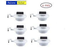 6 Pack Deal - Outdoor Solar Gutter LED Lights - White Sun Power Smart Solar Gutter Night Utility Security Light, http://www.amazon.com/dp/B014IDYRNK/ref=cm_sw_r_pi_awdm_x_Jhm1xbMBQYZ9K