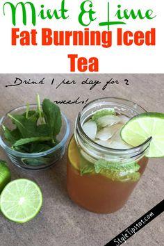fat burning tea recipe