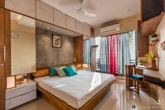 To inspire for design/renovate house from best top interior designs of India. Don't miss this… Exclusive edition of E-book Indian Apartment Interior Desi. Wardrobe Design Bedroom, Bedroom Wall Designs, Room Design Bedroom, Bedroom Furniture Design, Modern Bedroom Design, Home Room Design, Modern Wardrobe, Metal Furniture, Furniture Stores