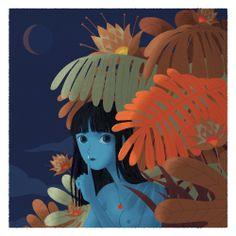 Digital illustration. Size: 45 X 45 cm
