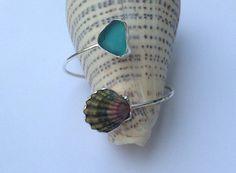 Sunrise shell cuff by oceandreamshawaii on Etsy