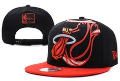 the best attitude 16858 567a2 NBA Miami Heat Snapback New Era 9FIFTY Hats Black Red 498 only US 8.90