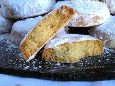 Nevaditos Leoneses Biscotti, Mantecaditos, Perfect Cookie, Eat Breakfast, Doughnuts, Cornbread, Lunch, Cookies, Dinner