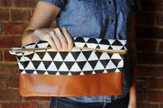 como hacer bolsos de tela y cuero - Buscar con Google