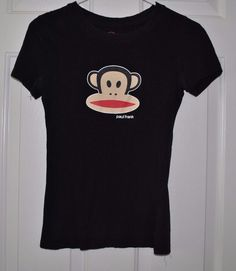 Paul Frank Juniors Short Sleeve Graphic T-Shirt Tee Size Small  #PaulFrank #GraphicTee