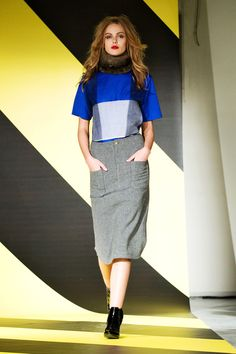 Plaid or  Color Blocking - Back Fall 2013 Ready-to-Wear Collection