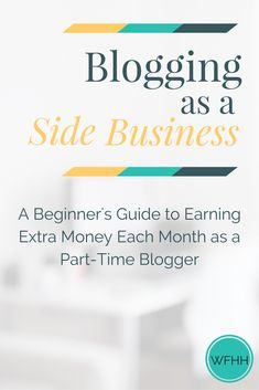 Blogging as a Side B