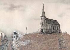 """""""The Ghost Bride"""" Posters by David Irvine   Redbubble"""