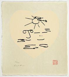 John Lennon sketch of him and Yoko Ono