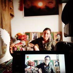 Heval Aryan, my protagonist. #waragainstpatriarchy #womensrevolution #noflyzone4rojava