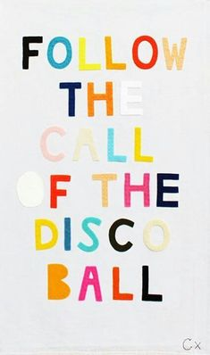 GIRLBOSS MOOD: It's FRIDAY!! follow the call of the disco ball