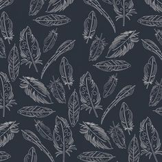 Panache Profundo Feathers Petal and Plume 100% Premium Cotton Fabric