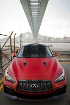 "motoriginal: ""Burntpixels submitted: Last week, I spent some time with the Infiniti Q50 Eau Rouge. Infiniti needs to build it. Like, right now. Send your stuff here for Submission Sunday. """
