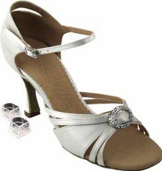 Amazon.com: Very Fine Women's Salsa Ballroom Tango Dance Shoes Style SERA1154 Bundle with Plastic Dance Shoe Heel Protectors Heel 3 Inch: Shoes