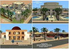 Mod The Sims - Distant Oasis Community Lots