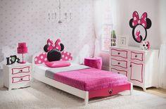 Delta Children Disney Minnie Mouse Panel 4 Piece Bedroom Set - Wayfair Kids Bedroom http://fave.co/2ciyWvz