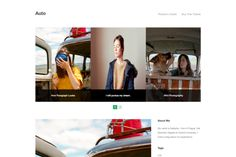 Auto - Blog Ghost Theme @creativework247
