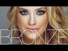 Sultry Bronze Makeup Tutorial! - YouTube