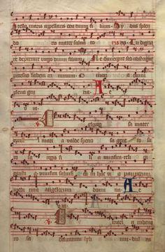 Moosburger Graduale um 1360 Moosburg Cim. 100 (= 2° Cod. ms. 156)  Folio 239