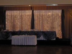 Burlap and Lace Backdrop Ideas | DIY Backdrops anyone have a picture of theres?