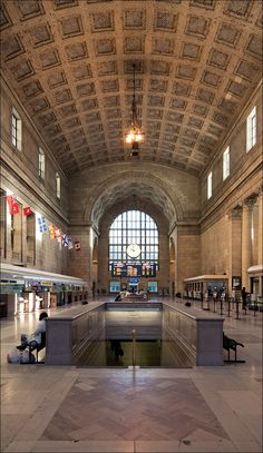 Toronto, Union Station at 10am on a Sunday.