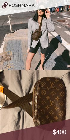 "Louis Vuitton shoulder wrap bag So awesome for going out and not wanting to actually ""carry"" something used about 3 times amazing condition Louis Vuitton Bags Mini Bags Mini Bags, Fashion Tips, Fashion Design, Fashion Trends, Louis Vuitton Monogram, Awesome, Amazing, Carry On, Going Out"
