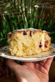 Przepisy Aleksandry: CIASTO DROŻDŻOWE DZIADKA ROMUSIA Polish Cake Recipe, Polish Recipes, Polish Food, Food Cakes, Vanilla Cake, Cake Recipes, Food And Drink, Sweets, Candy
