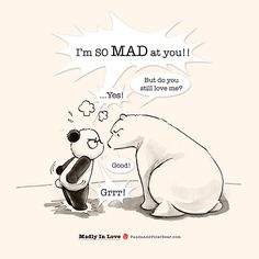 Madly In Love – Panda and Polar Bear Happy Birthday Bear, Happy Birthday Drawings, Cute Animal Drawings, Cute Drawings, Cute Panda Cartoon, Panda Drawing, Polar Bear Drawing, Chibi, Baby Panda Bears