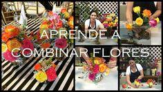 Como hacer arreglos de flores / seleccionar y combinar las flores para h...