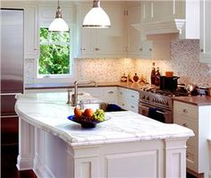 Transitional (Eclectic) Kitchen by Ashley Campbell