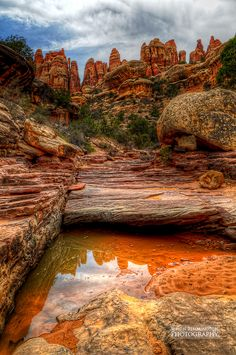 Somewhere in the Needles District of Canyonlands on the way to Druid Arch | by Simon Rimmington